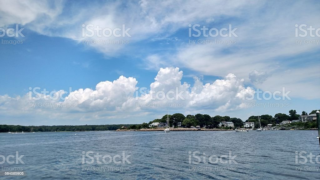 Habor Island, Narragansett, Rhode Island stock photo