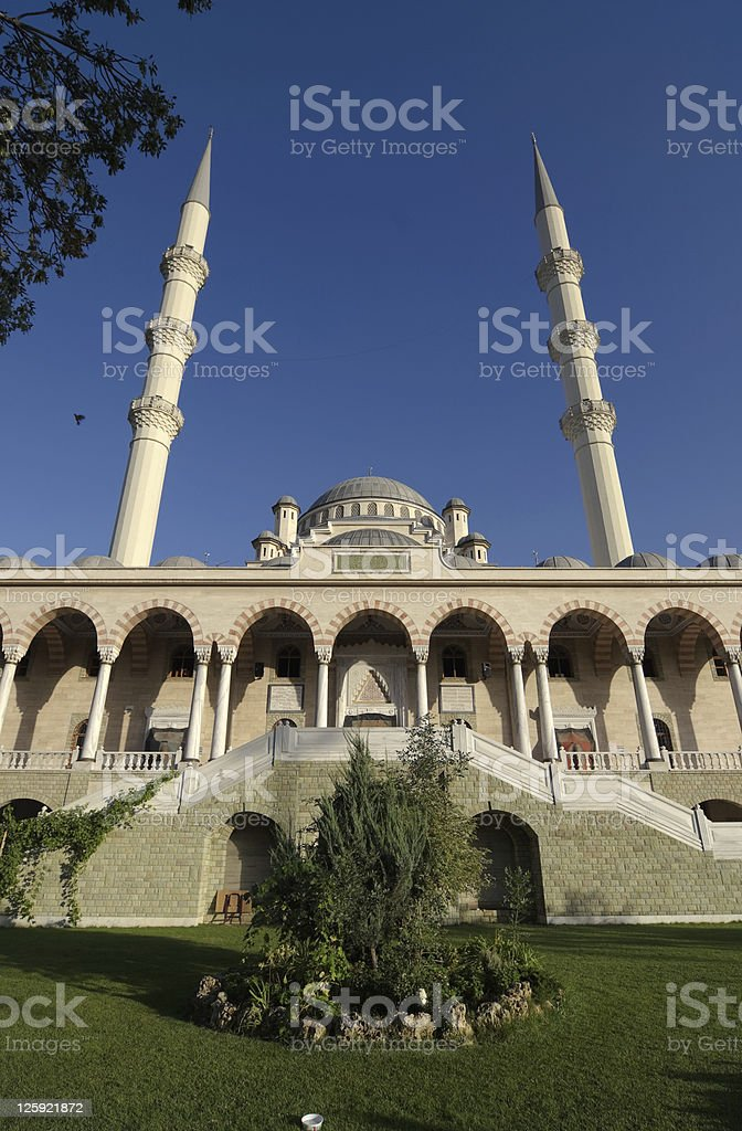Haci Veys Zade Mosque in Konya stock photo