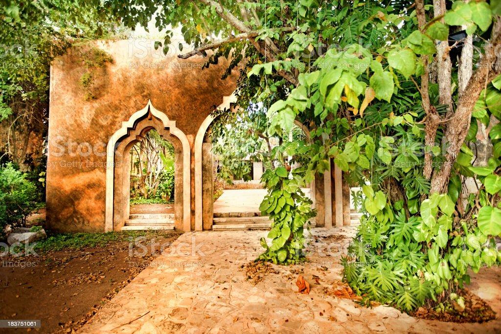 Hacienda Ochil stock photo