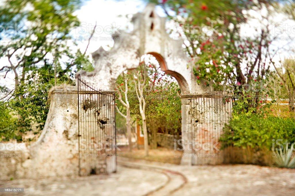 Hacienda stock photo