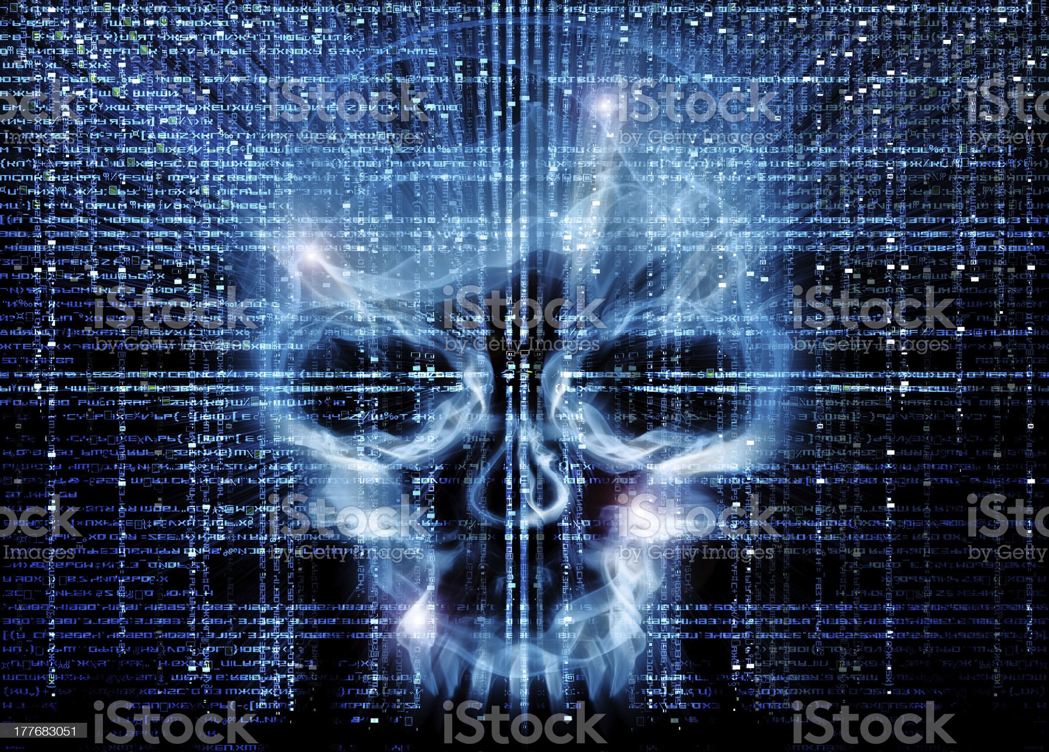 hacker attack background royalty-free stock vector art