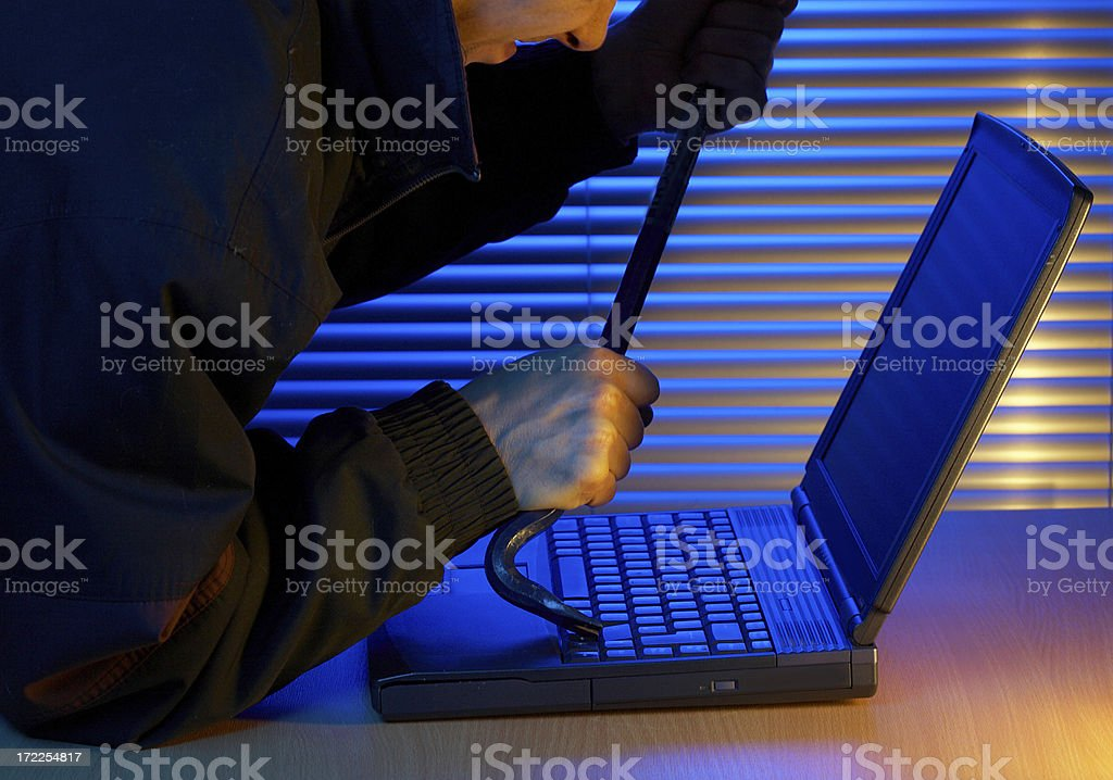 Hacker Attacks royalty-free stock photo