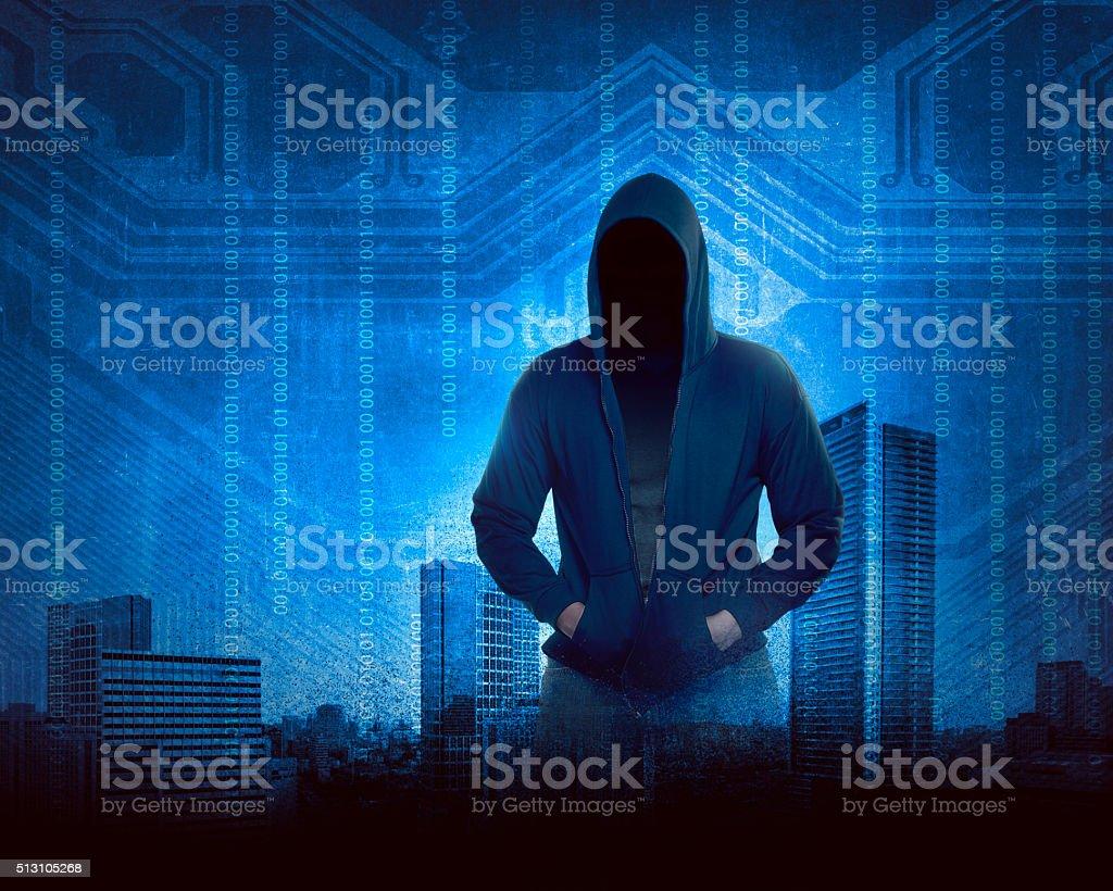 Hacker Concept stock photo