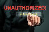 Hacker unauthorized