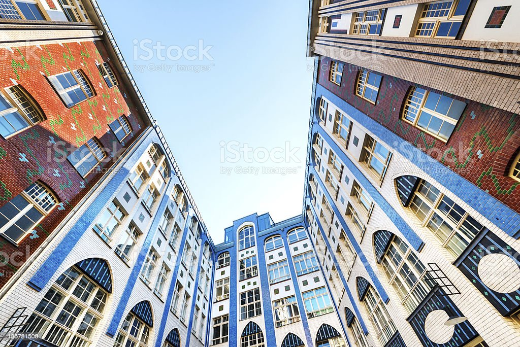 Hackesche Hoefe Berlin, Germany royalty-free stock photo