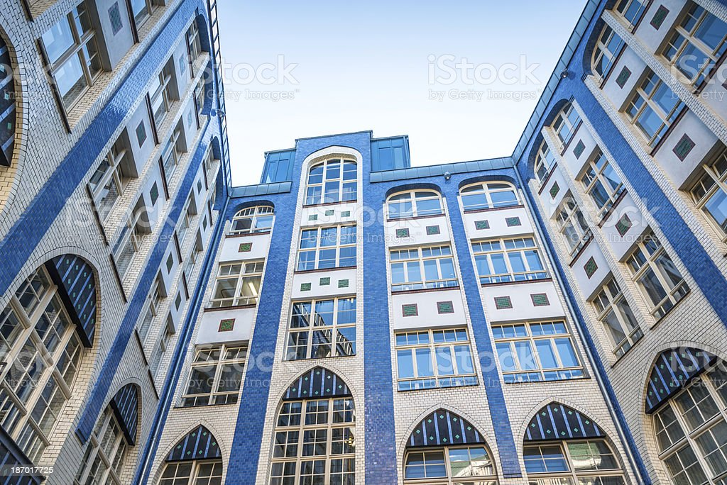 Hackesche Hoefe Berlin, Germany royalty-free stock photo