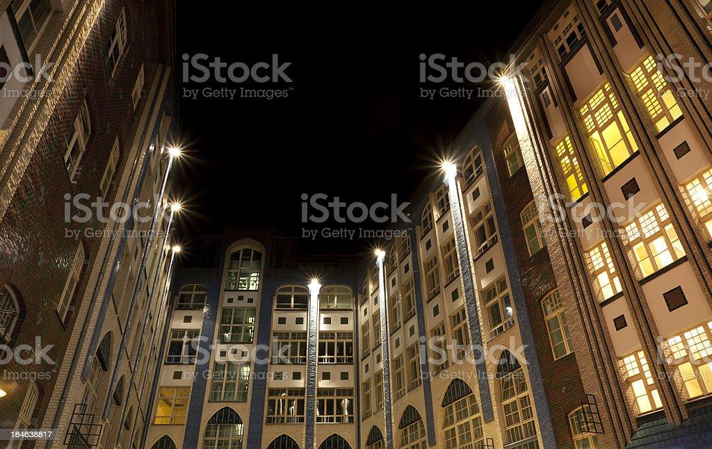Hackesche Hoefe, Berlin royalty-free stock photo