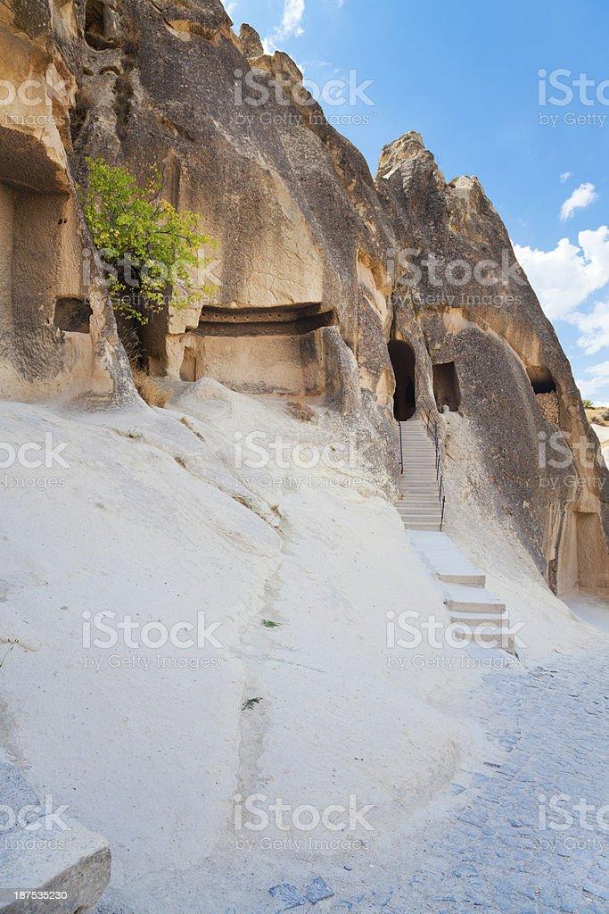 Hacli Church, Cappadocia, Turkey royalty-free stock photo