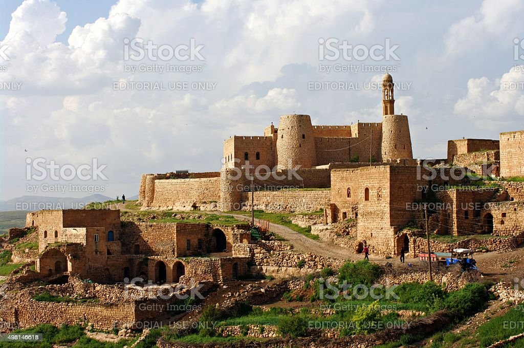 Hadbshabo Church in Mardin stock photo