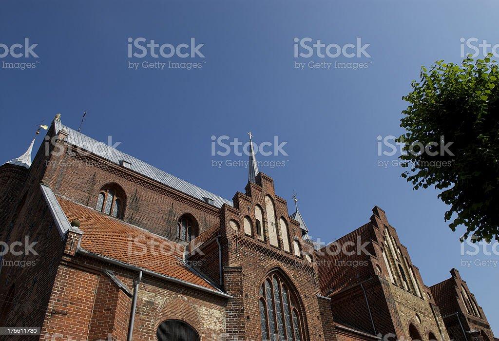 Haderslev Cathedral stock photo