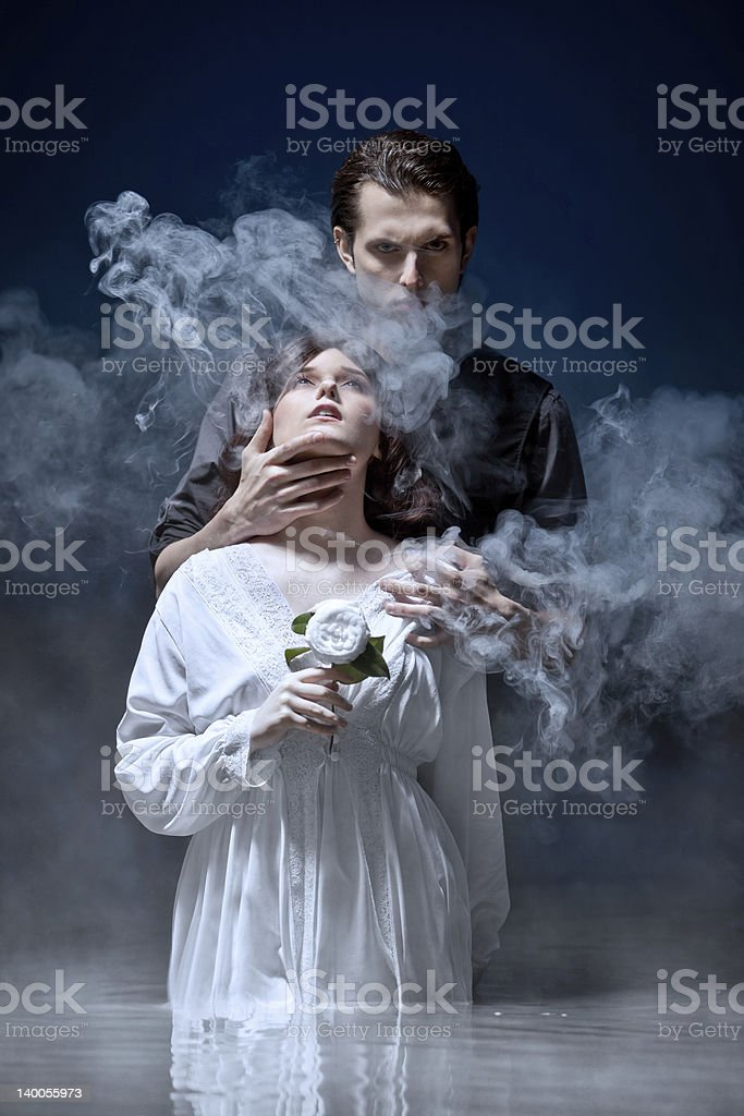 Hades & Persephone: The Seduction stock photo