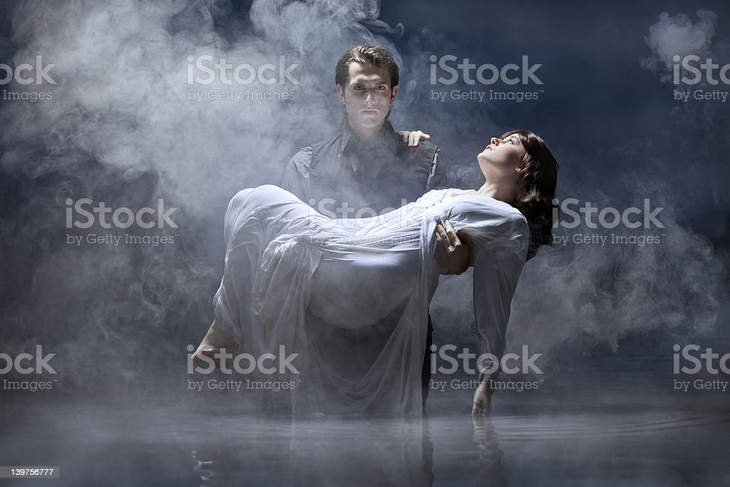 Hades & Persephone: To the Underworld stock photo