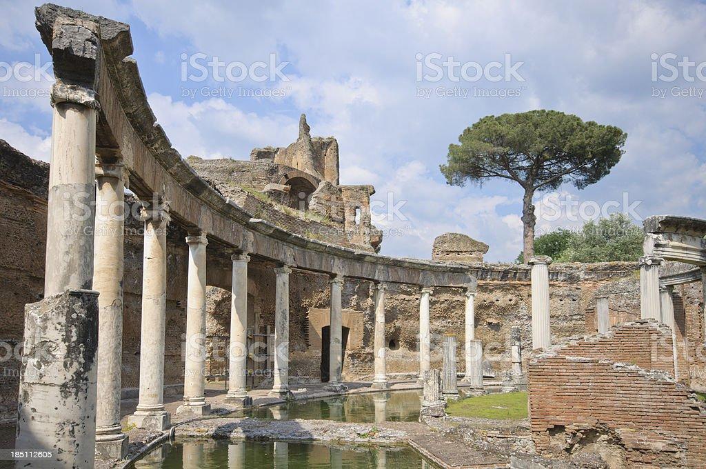 Hadrian's Villa royalty-free stock photo