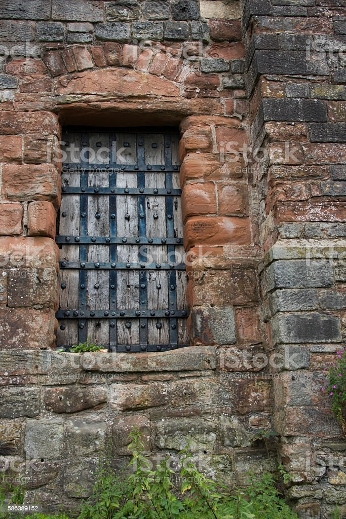 Hadrians Wall stock photo