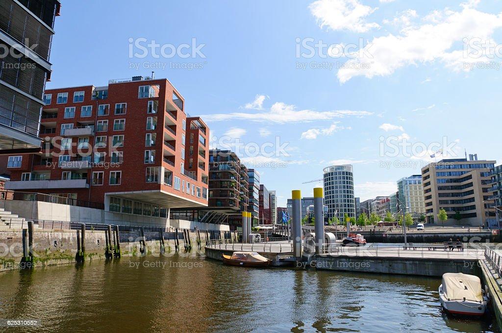 HafenCity in Hamburg, Germany stock photo