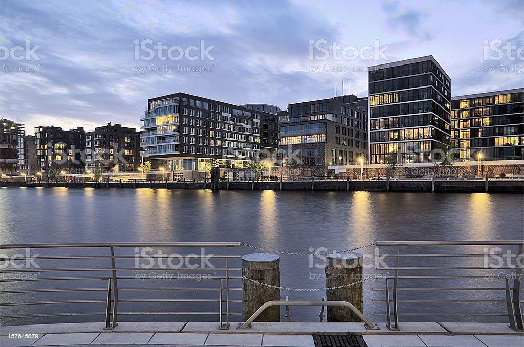 Hafencity of Hamburg stock photo