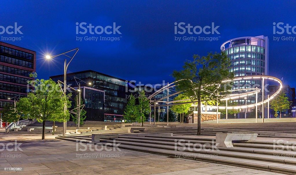 HafenCity stock photo