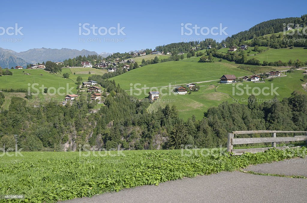 Hafling,South Tyrol,Italy stock photo