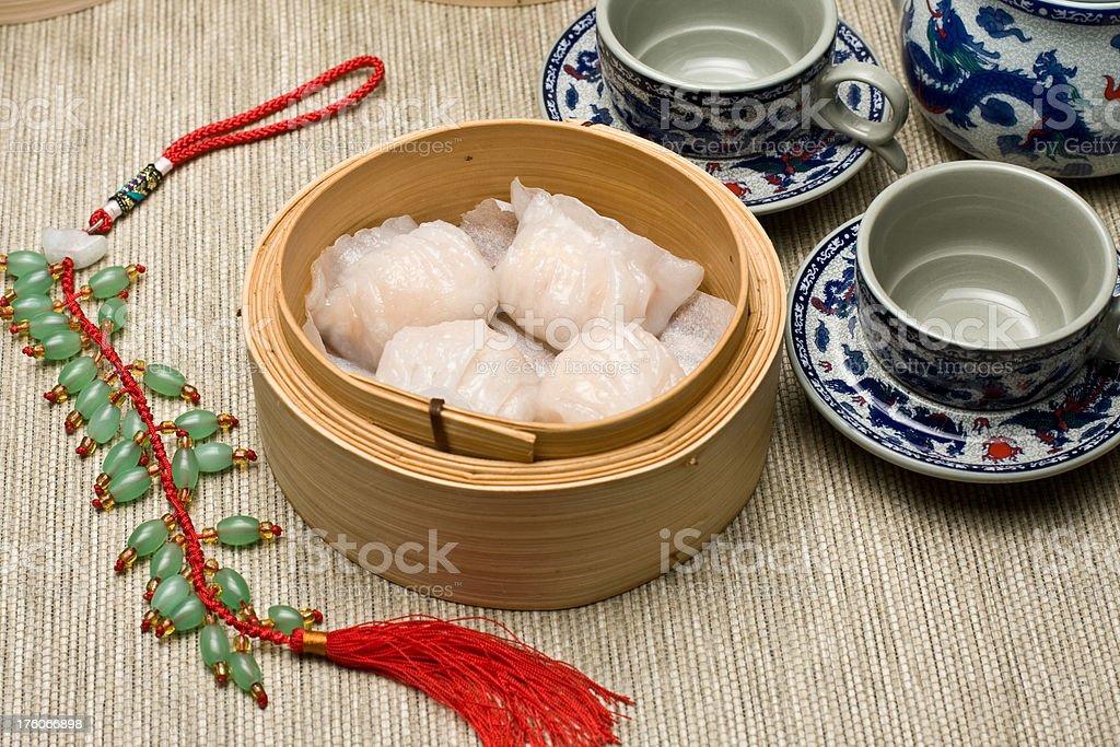 Hagao Dumplings stock photo