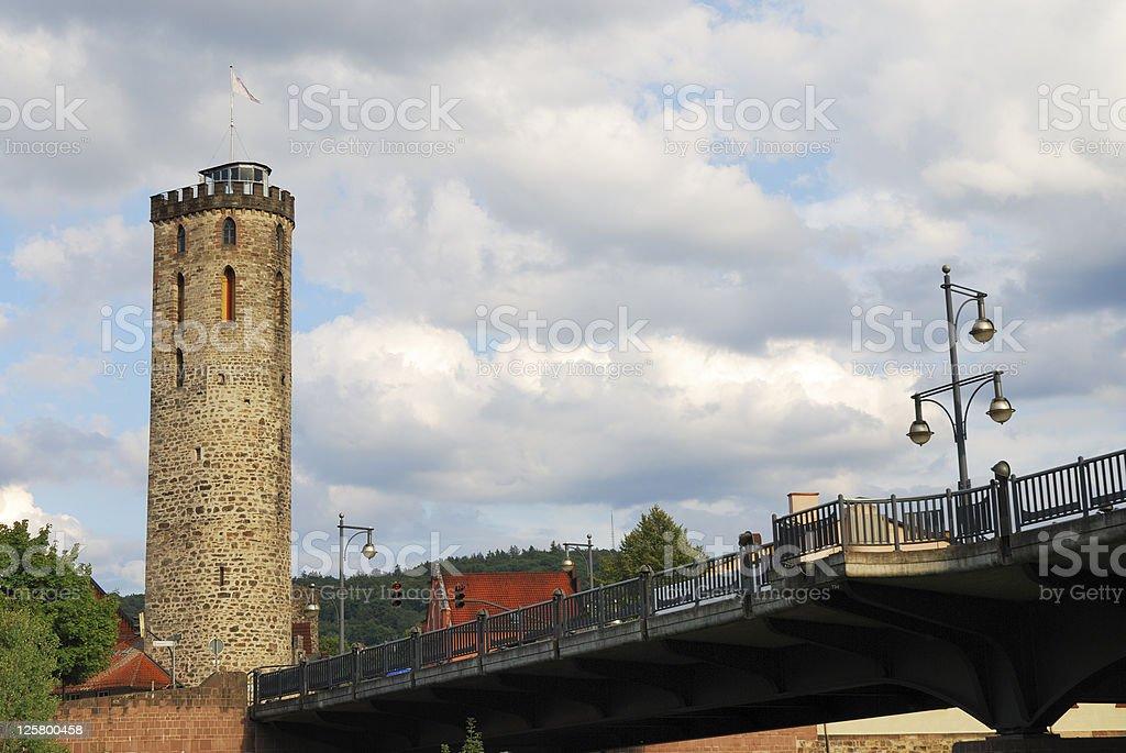 Hagelturm stock photo