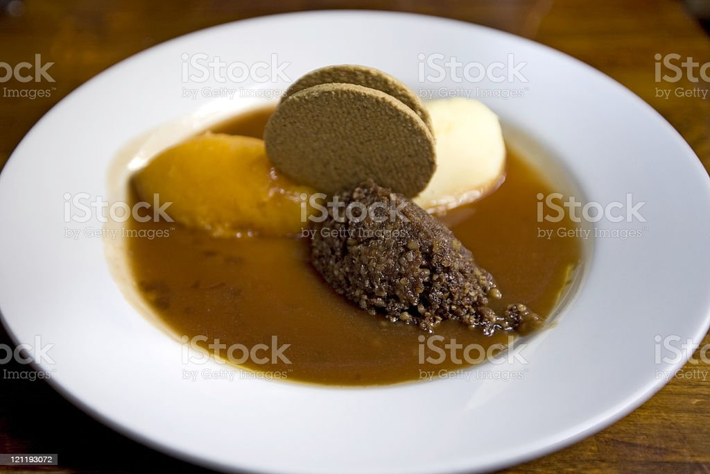 Haggis meal royalty-free stock photo