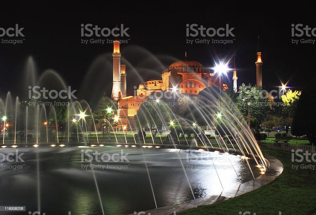 Haghia Sophia Mosque royalty-free stock photo