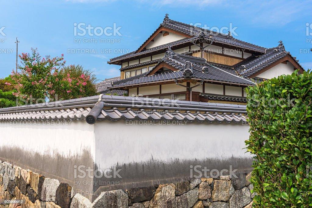 Hagi, Japan Old Town stock photo