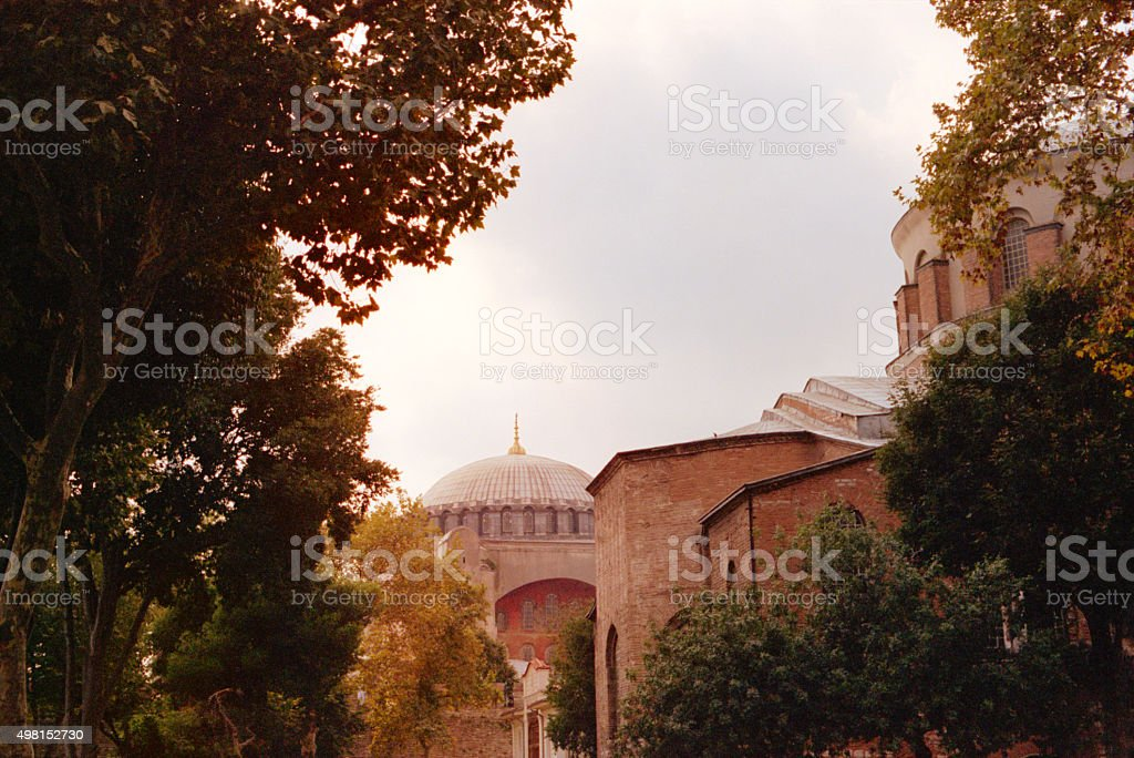 Hagia Irene (Aya Irini) Church, Istanbul, Turkey stock photo
