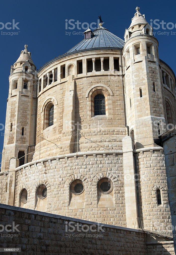 Hagia Maria Sion Abbey stock photo