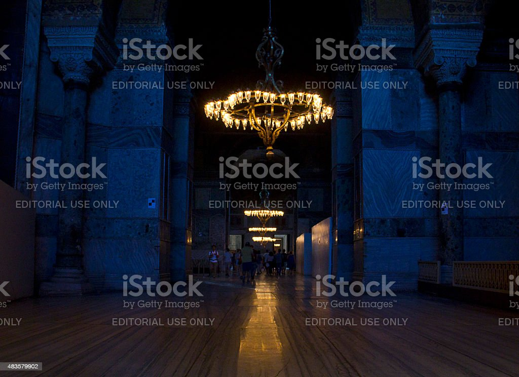 Hagia Sophia Basilica stock photo