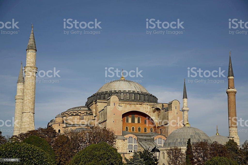 Hagia Sophia in Istanbul, Turkey. royalty-free stock photo