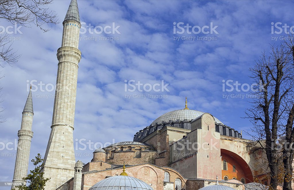 Hagia Sophia, Istanbul, Turkey royalty-free stock photo