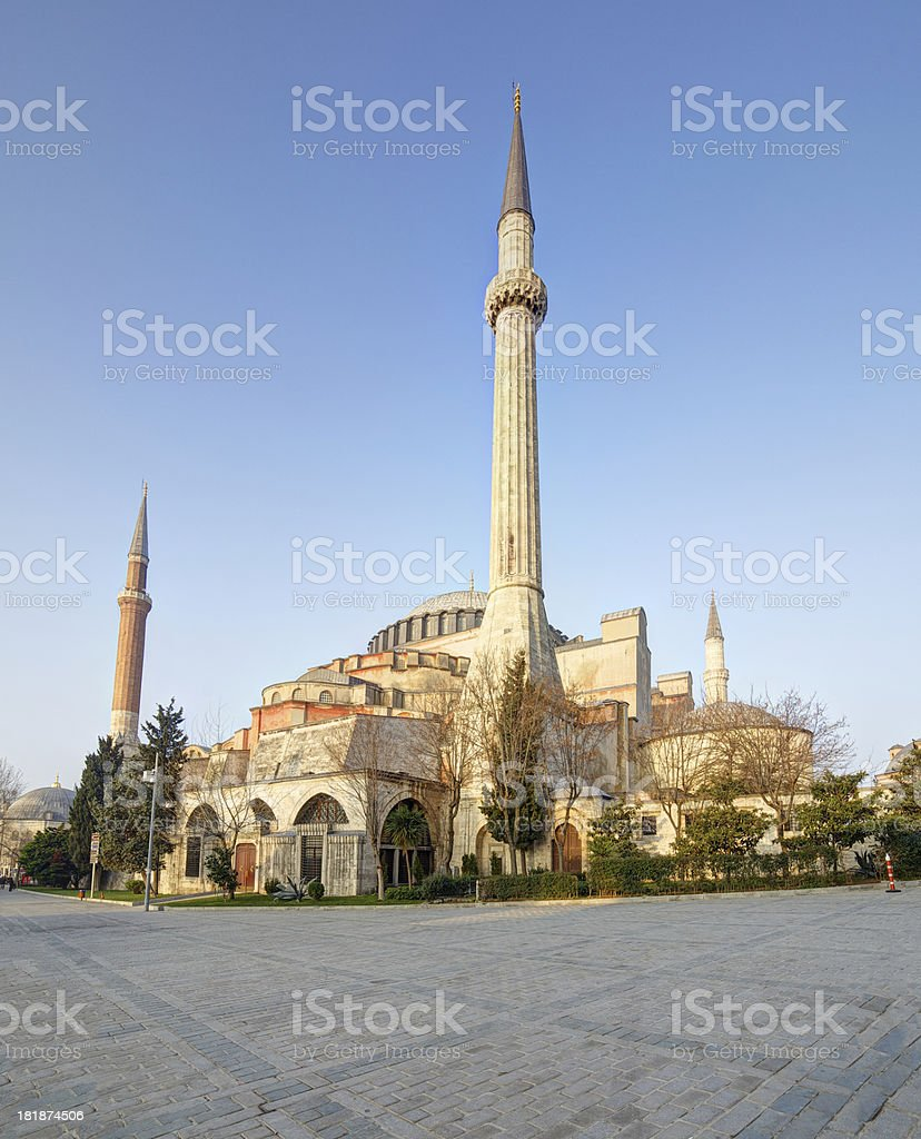 Hagia Sophia. Istanbul. Turkey. royalty-free stock photo