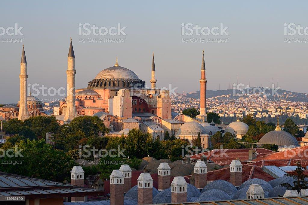 Hagia Sophia, Istanbul, Turkey. stock photo