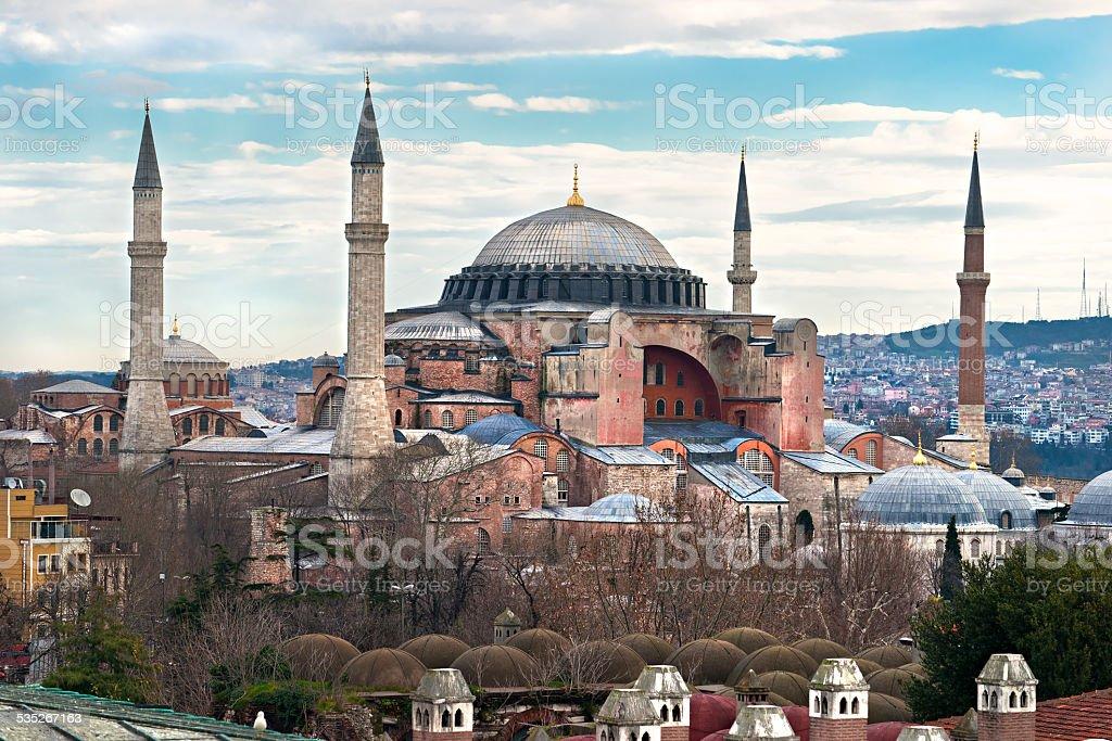 Hagia Sofia Moschee, Istanbul, Türkei. – Foto