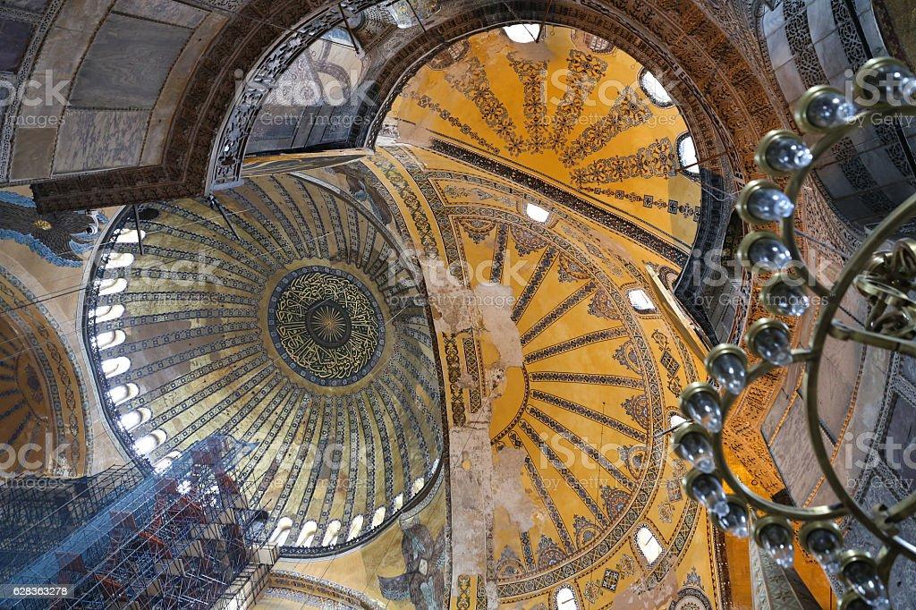 Hagia Sophia museum in Istanbul stock photo