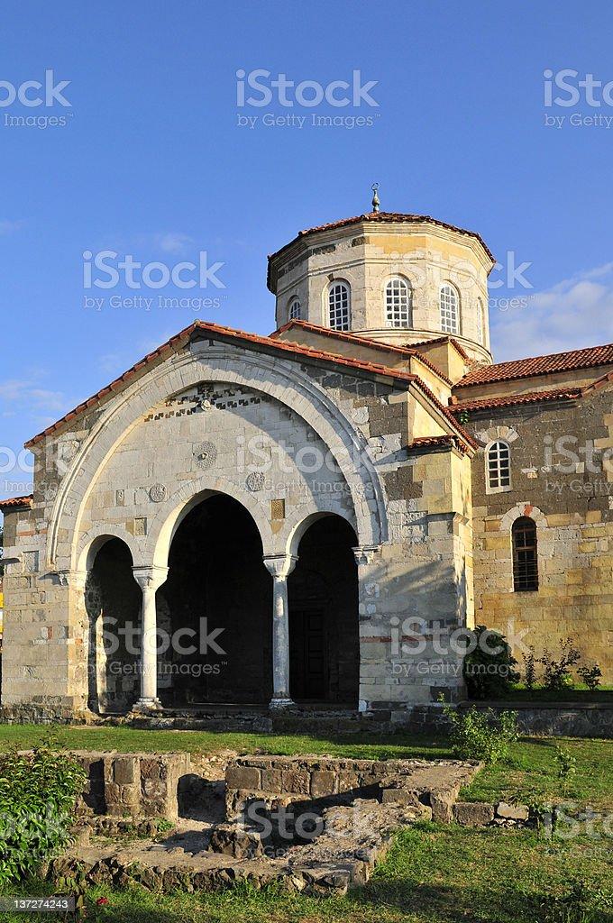 Hagia Sophia (Church of the Divine Wisdom) stock photo