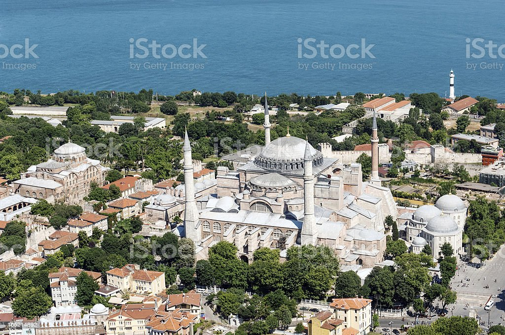 Hagia Sophia royalty-free stock photo