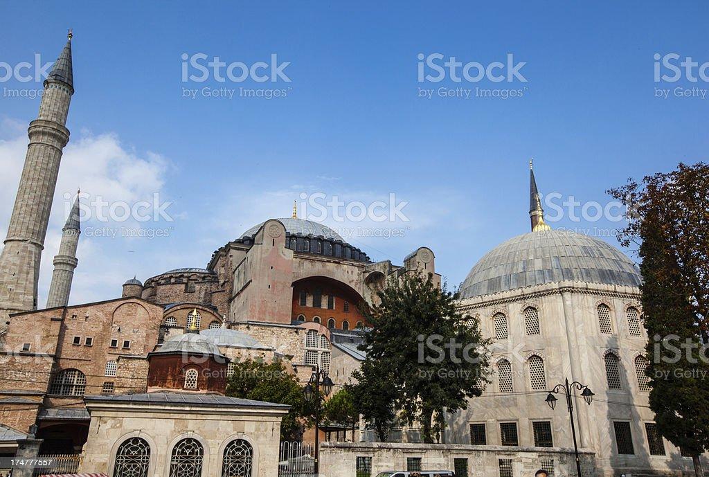 Hagia Sophia royalty-free stock photo