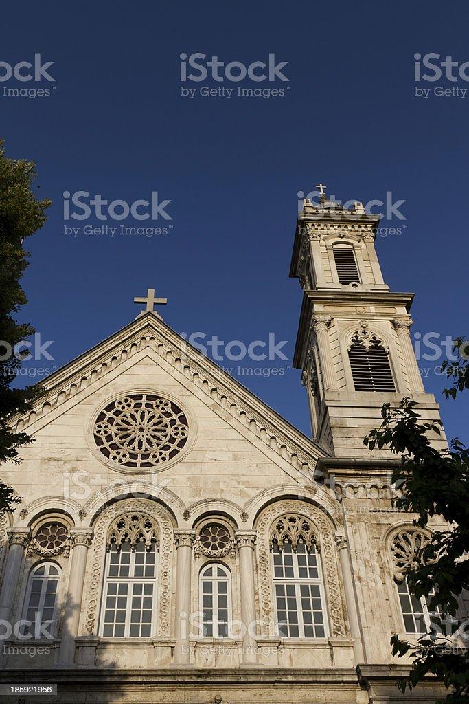 Hagia Triada Greek Orthodox Church royalty-free stock photo