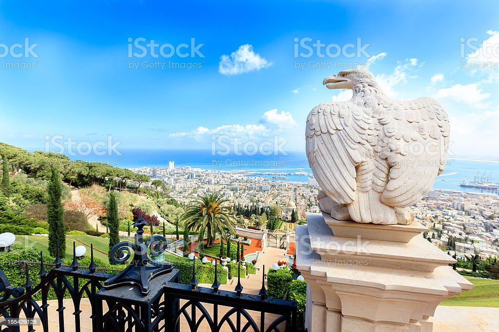 Haifa, Israel stock photo