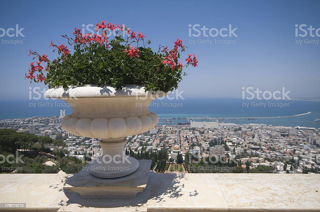 Haifa, Israel royalty-free stock photo