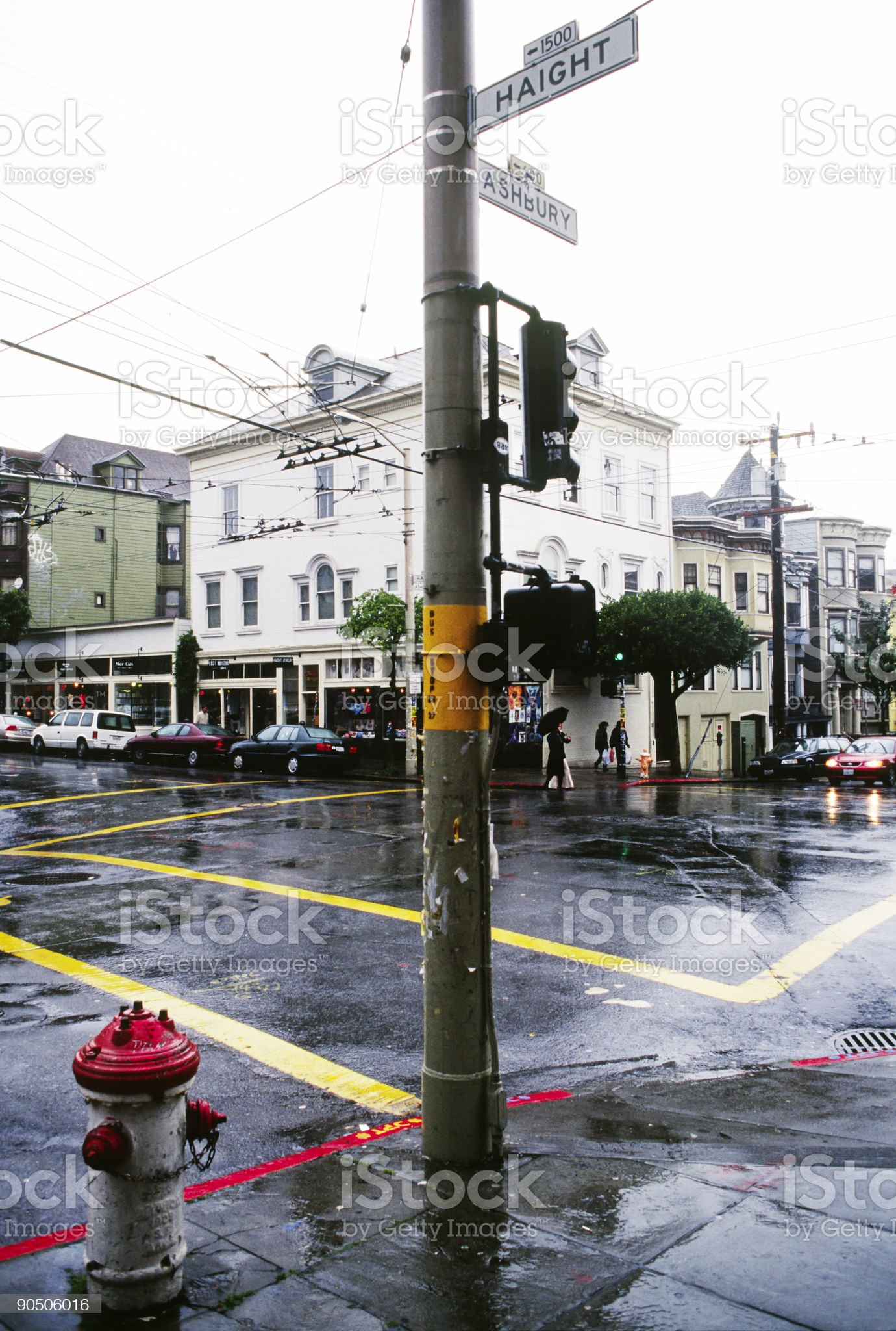 Haight Ashbury District, San Francisco, California royalty-free stock photo