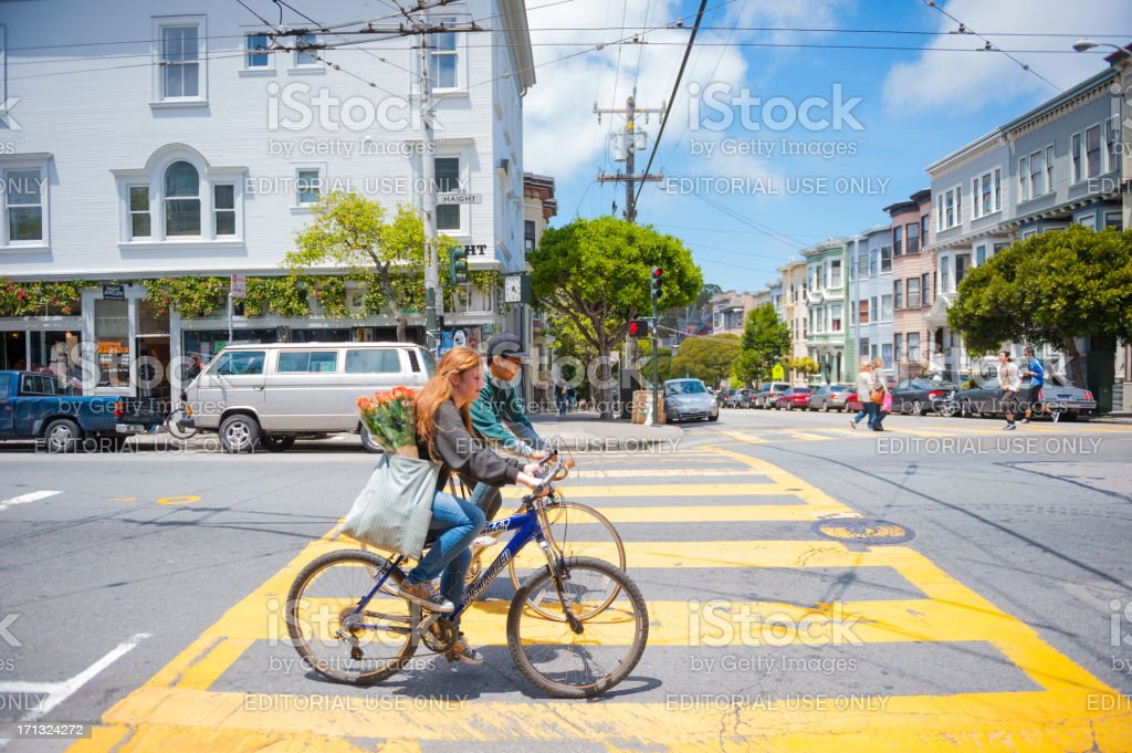 Haight-Ashbury, San Francisco stock photo