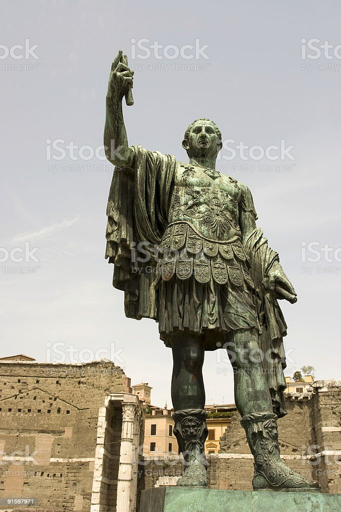 Hail Caesar stock photo
