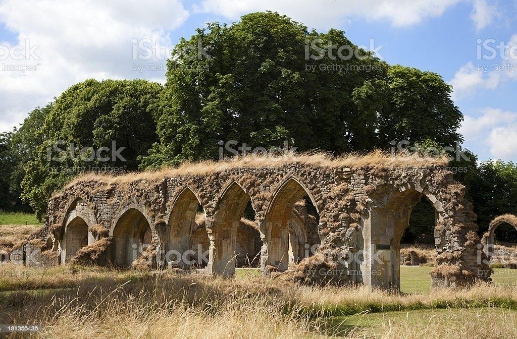 Hailes Abbey royalty-free stock photo