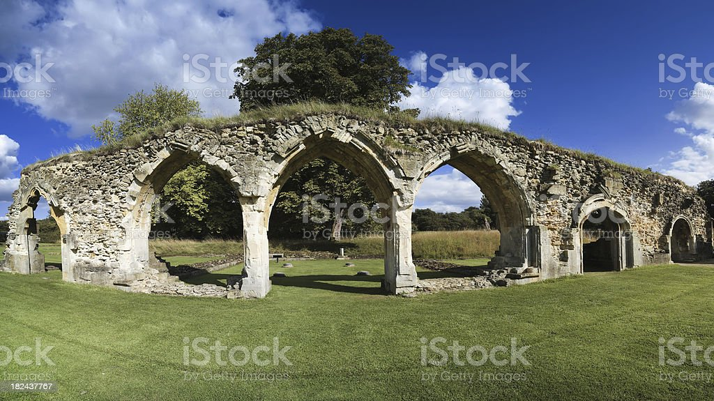 hailes abbey royalty-free stock photo
