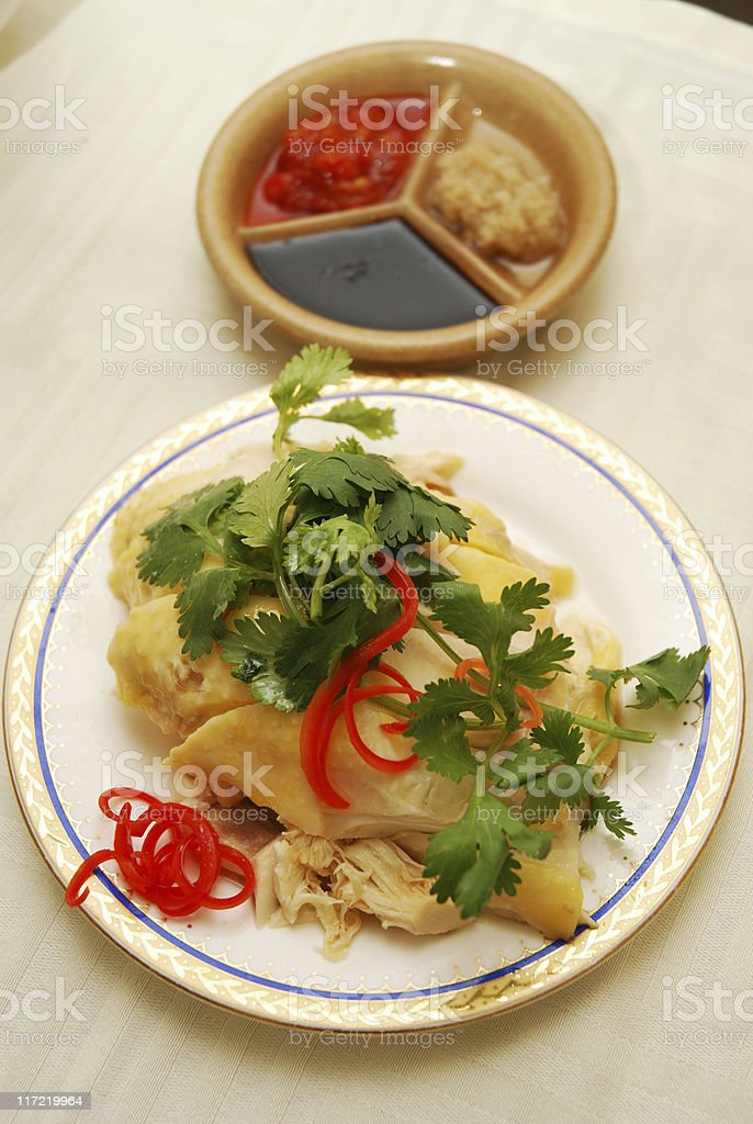 Hainan Chicken royalty-free stock photo