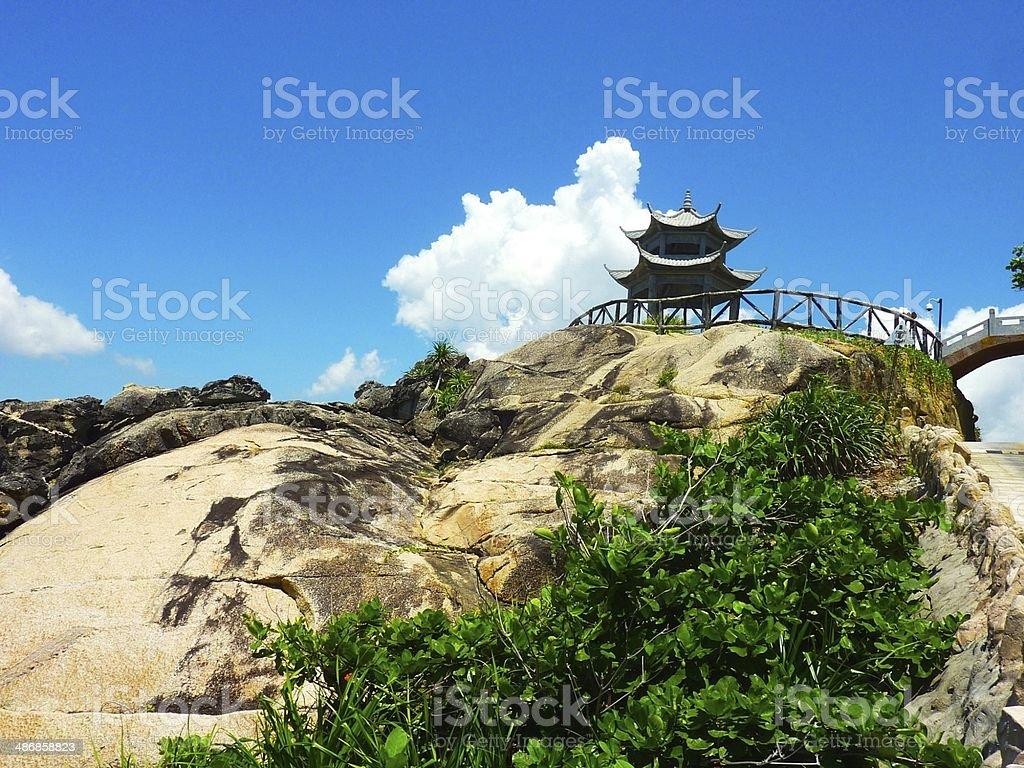 Hainan Island_China royalty-free stock photo