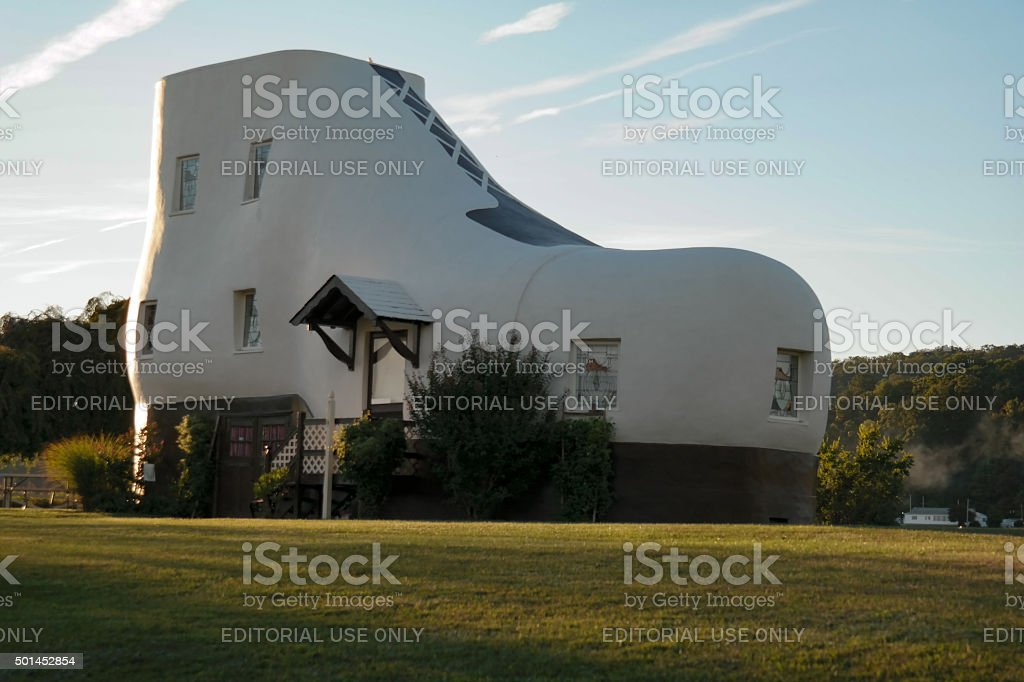 Haines Shoe House stock photo